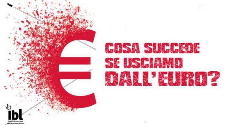 Cosa succede se usciamo dall'euro? di Alberto Saravalle.