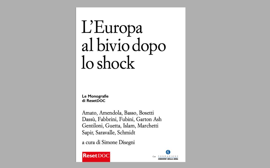 Tre sfide per l'Unione dopo la pandemia11/01/2021 di Alberto Saravalle.